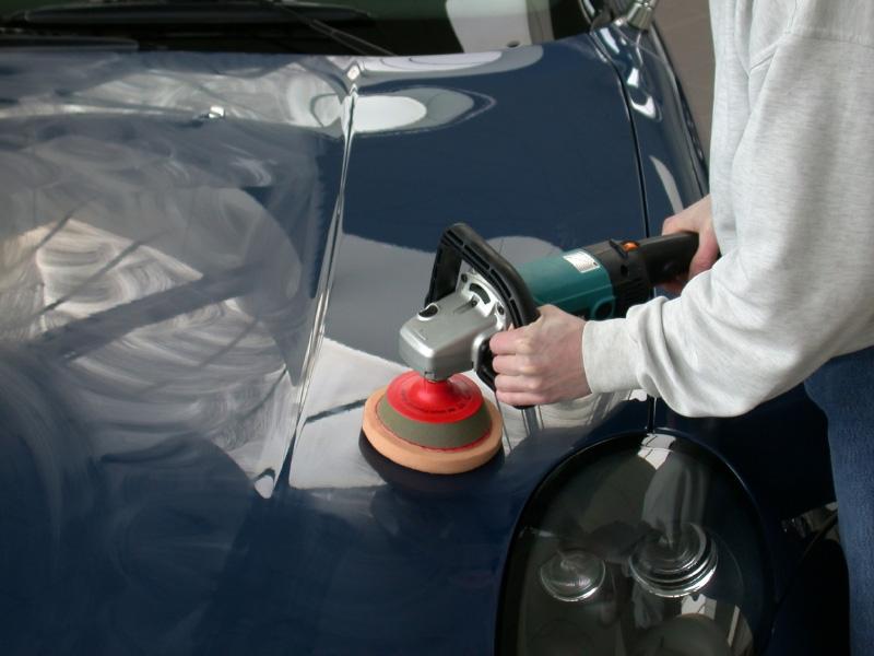 Качественная полировка автомобиля абразивными пастами