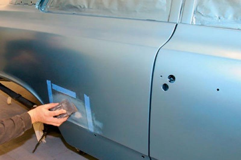 устранение дефектов перед покраской